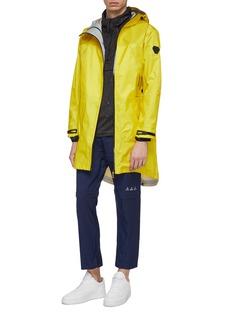 Trickcoo Half-zip placket PARACHUTE unisex hooded windbreaker coat