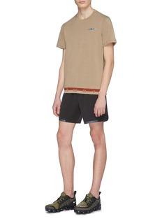 Particle Fever Logo jacquard hem drirelease® performance T-shirt