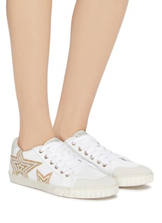 Ash 'Magic' star patch leather sneakers