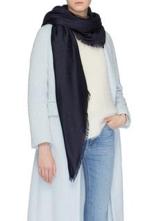 Gucci GG jacquard silk-wool scarf