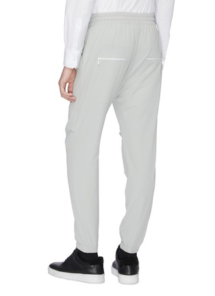 Back View - Click To Enlarge - STAFFONLY - 'Quobi' tapered jogging pants