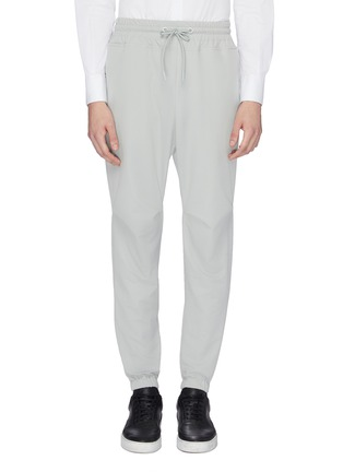 Main View - Click To Enlarge - STAFFONLY - 'Quobi' tapered jogging pants
