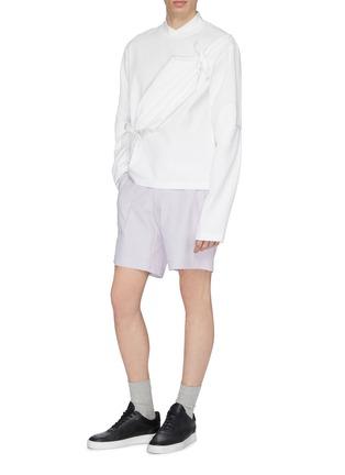 Figure View - Click To Enlarge - STAFFONLY - 'Banni' bum bag appliqué sweatshirt