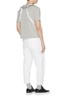 STAFFONLY 'Tropei' pleated ribbed pants