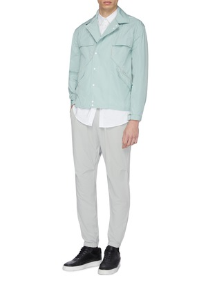 Figure View - Click To Enlarge - STAFFONLY - 'Rowen' piping shirt jacket