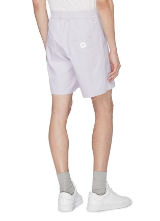 Back View - Click To Enlarge - STAFFONLY - 'Yabo' ribbed sweat shorts