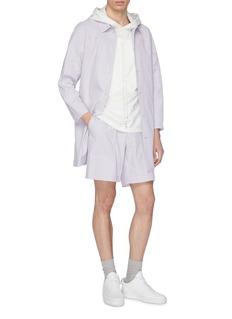 STAFFONLY 'Rolit' short sleeve hoodie