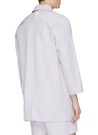 Back View - Click To Enlarge - STAFFONLY - 'Haik' ribbed coat