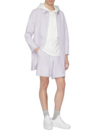 Figure View - Click To Enlarge - STAFFONLY - 'Haik' ribbed coat