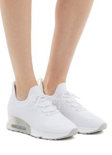ASH 'Lunatic' mixed knit sneakers