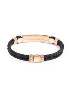 John Hardy 'Classic Chain' onyx bronze silver bracelet