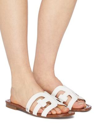 8354f6958996 Figure View - Click To Enlarge - Sam Edelman -  Bay  leather slide sandals