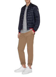 Moncler 'Attoub' down puffer front bomber jacket