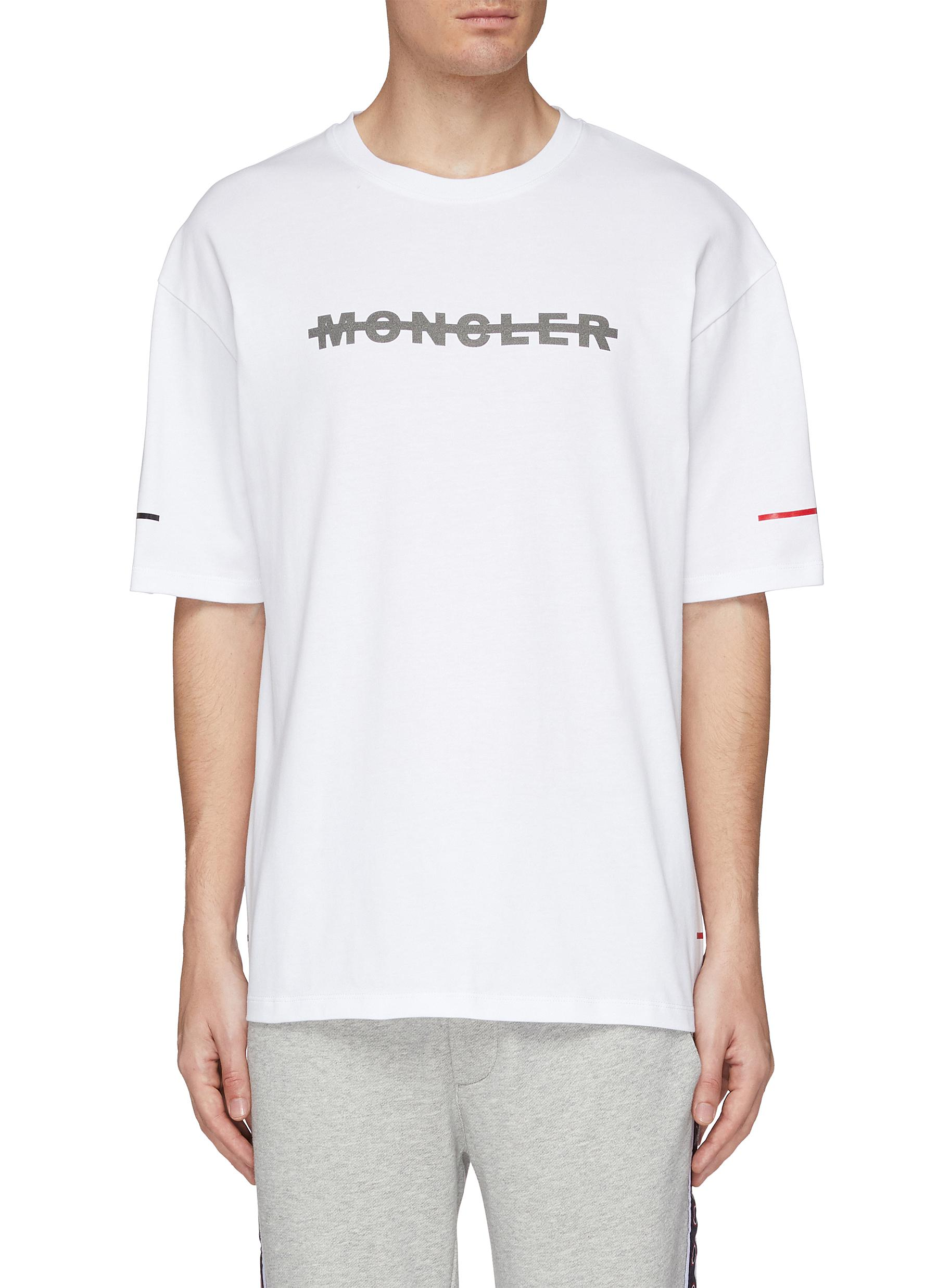 dd77470f6 Main View - Click To Enlarge - MONCLER - 'Maglia' logo print T-