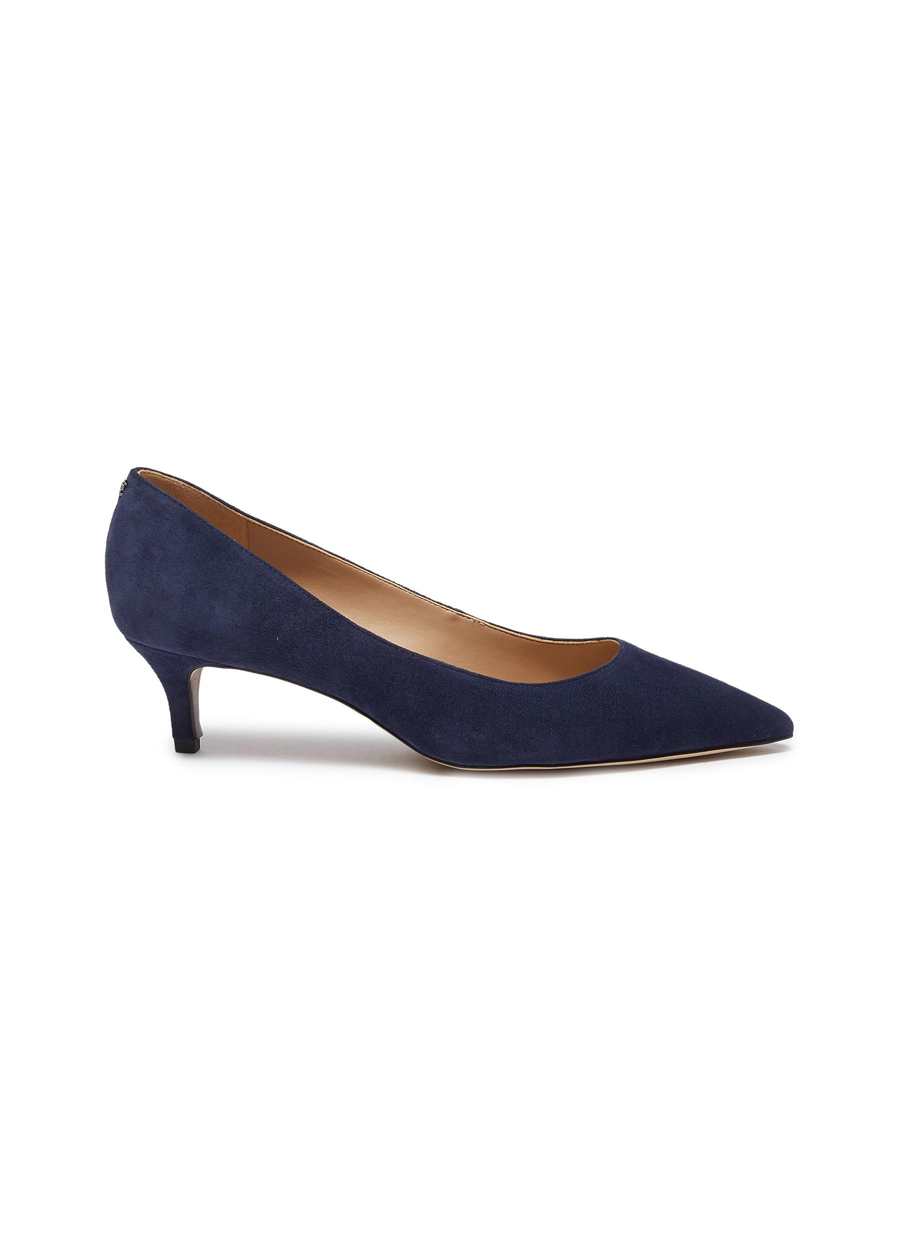 Sam Edelman Low Heels Dori suede pumps
