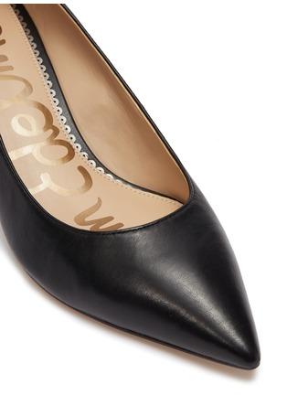 Detail View - Click To Enlarge - SAM EDELMAN - 'Dori' leather pumps