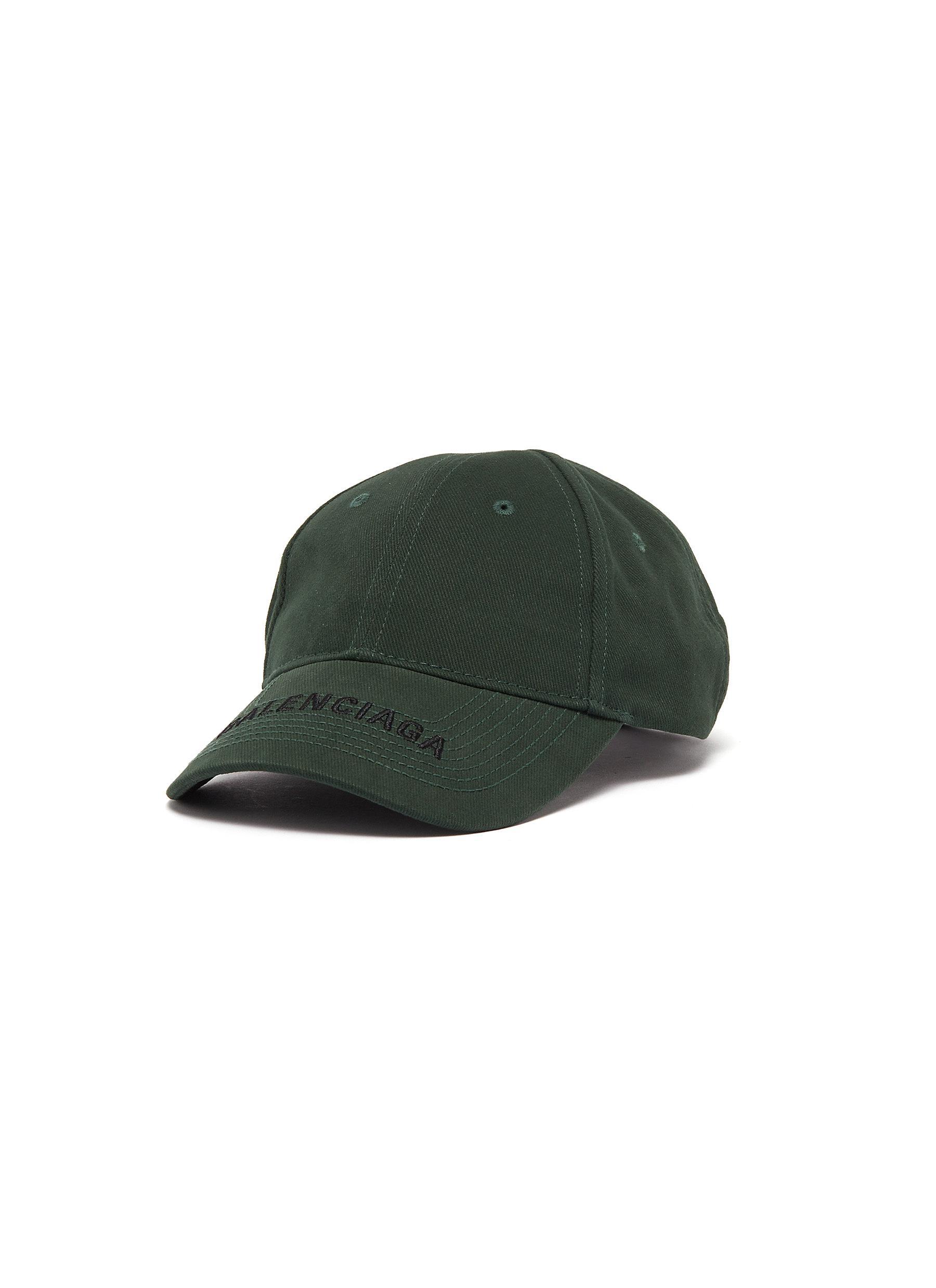 4db76295d5 BALENCIAGA | 'Everyday' logo embroidered visor baseball cap | Women ...