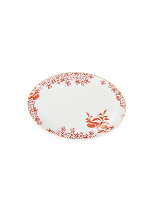 Main View - Click To Enlarge - Bernardaud - Imperial Eden large oval platter