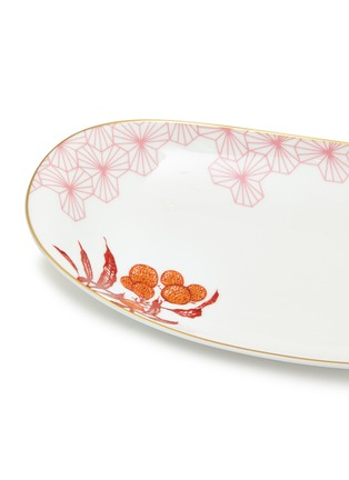 Detail View - Click To Enlarge - Bernardaud - Imperial Eden relish dish