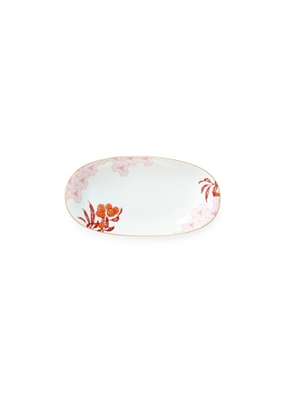 Main View - Click To Enlarge - Bernardaud - Imperial Eden relish dish
