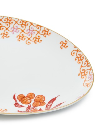 Detail View - Click To Enlarge - Bernardaud - Imperial Eden small oval platter