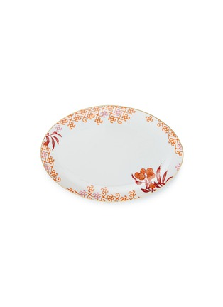 Main View - Click To Enlarge - Bernardaud - Imperial Eden small oval platter