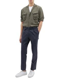 Lardini Linen army shirt