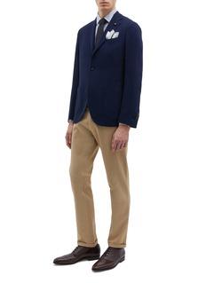 Lardini Wool hopsack blazer