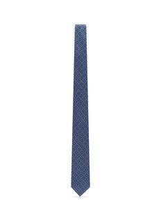 Lardini Floral square print tie