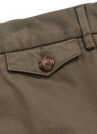 - Christian Kimber - Roll cuff garment dyed chinos