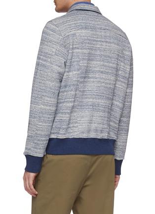 Back View - Click To Enlarge - CHRISTIAN KIMBER - Knit shirt jacket