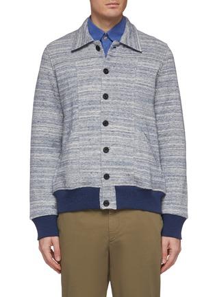 Main View - Click To Enlarge - CHRISTIAN KIMBER - Knit shirt jacket