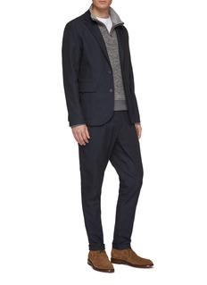 Christian Kimber Notched lapel slim fit soft blazer