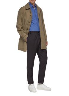 Christian Kimber Roll cuff straight leg wool jogging pants
