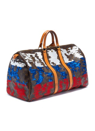 19af07151257 Figure View - Click To Enlarge - Jay Ahr - Louis Vuitton Keepall 55 with  National