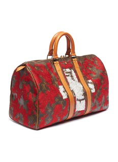 Jay Ahr Louis Vuitton Keepall 45 with National Flag embroidery –Switzerland