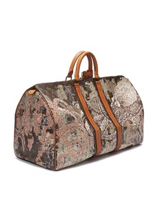 Jay Ahr Louis Vuitton Keepall 55 with Shunga embroidery – Act 8 Censored