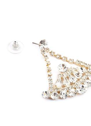 Detail View - Click To Enlarge - STAZIA LOREN - Diamanté drop earrings