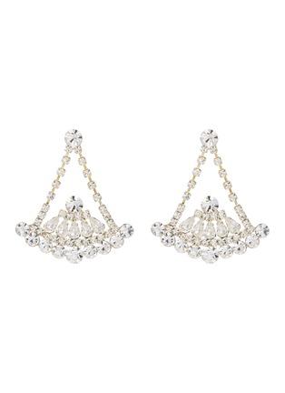 Main View - Click To Enlarge - STAZIA LOREN - Diamanté drop earrings
