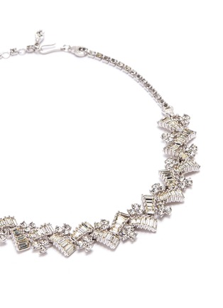 Detail View - Click To Enlarge - STAZIA LOREN - Diamanté geometric necklace