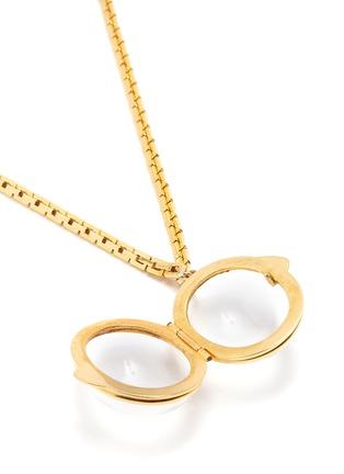 Detail View - Click To Enlarge - STAZIA LOREN - Sphere locket pendant necklace