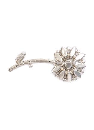 Figure View - Click To Enlarge - STAZIA LOREN - Diamanté flora, brooch