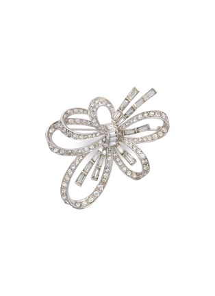 Main View - Click To Enlarge - STAZIA LOREN - Diamanté cutout flower brooch