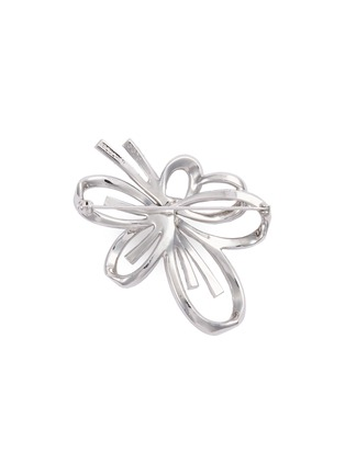 Figure View - Click To Enlarge - STAZIA LOREN - Diamanté cutout flower brooch