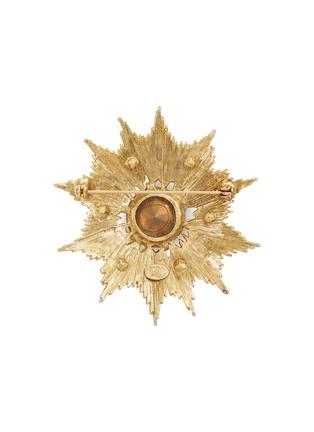Figure View - Click To Enlarge - STAZIA LOREN - Gemstone sunburst brooch