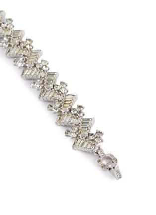 Detail View - Click To Enlarge - STAZIA LOREN - Diamanté geometric bracelet