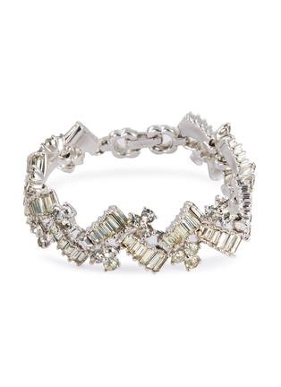 Main View - Click To Enlarge - STAZIA LOREN - Diamanté geometric bracelet