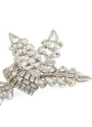 Detail View - Click To Enlarge - STAZIA LOREN - Diamanté brooch