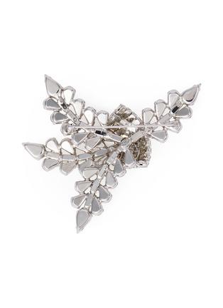 Figure View - Click To Enlarge - STAZIA LOREN - Diamanté brooch