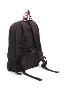 Stella Mccartney Kids Textile hook-and-loop logo strap kids backpack